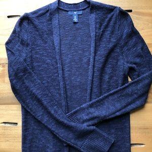 GAP Navy Blue Cardigan
